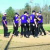 Central's Varsity Baseball team beats Prince Edward in home opener