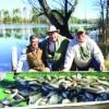 Delegates enjoy big day in fishing tourney