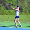 Lady Statesmen battle strong Liberty Christian team in tennis