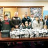 Bags Presented to Sheriff's Department
