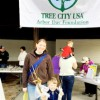 Town of Farmville Gives Away Trees for Arbor Day