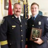 Fireman Lovelady Honored by Department