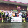 Bikers Enjoy 'Timmy Dog' Sprint, Stop at Local Business
