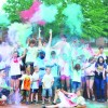 Central High School Hosts 'Color Run' Charity Event
