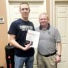 Randolph-Henry Junior Russell Schmidt Receives Award