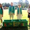 Girl Scouts Fill Blessings Bags  for Madeline's House