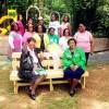 Sorority Donates Bench to Ellis Acres