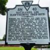 State Historical Marker Honoring Hawthorne Unveiled