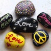 Painted Rocks at the Prince Edward County Library