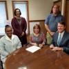 Schools Partner with Habitat on Birdhouse Build Project