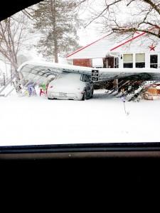 Garage collapse