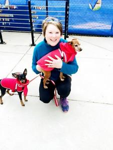 dog walk winner
