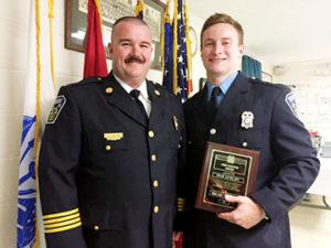 farmville fireman honored