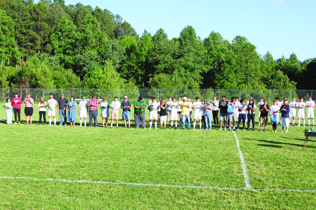 R-H Soccer celebrates Senior Night