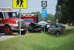 Car crashes 1