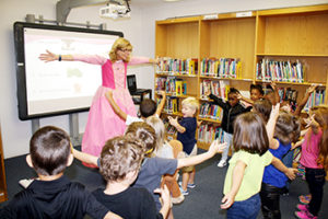 BOOK FAIRY VISITS PHENIX PRE K