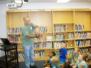 LOCAL ASTRONOMER VISITS PHENIX ELEMENTARY