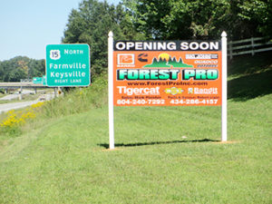 forest pro sign