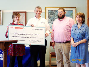 AARP Donation Check