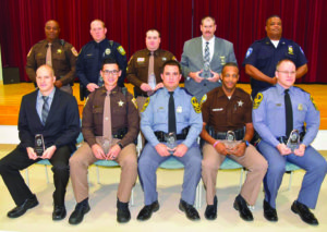 Dayton honored at Law Enforcement Banquet
