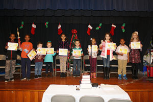 Phenix Elementary Spelling Bee Contestants