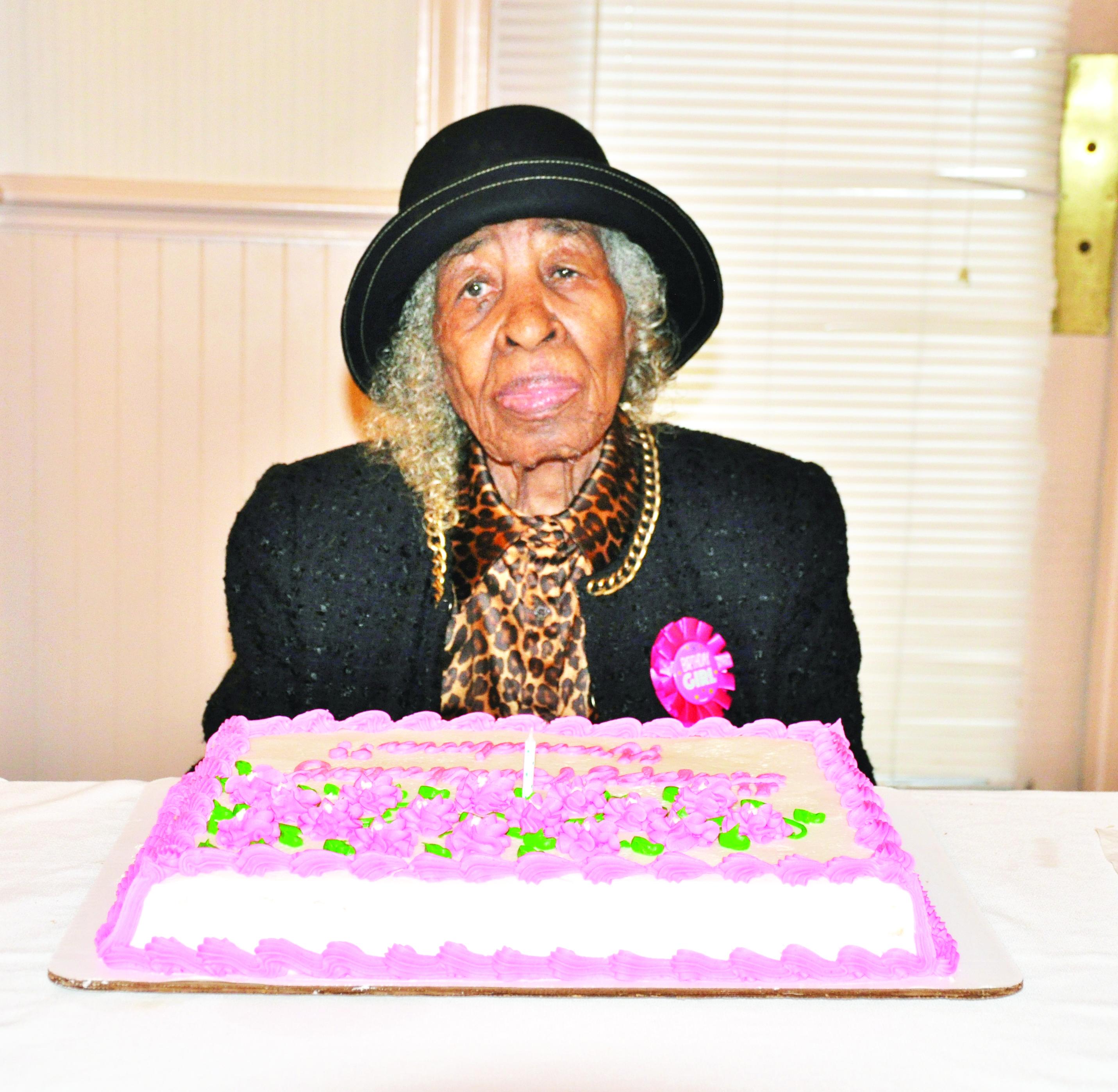ANNIE S GREGORY CELEBRATES 100TH BIRTHDAY